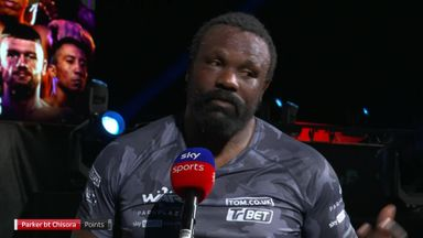 Chisora: Boxing doesn't like me