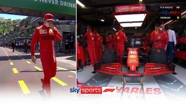 Leclerc out of the Monaco GP!