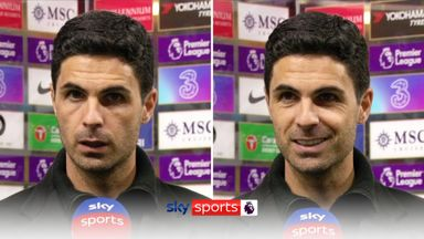 Arteta: My players give everything
