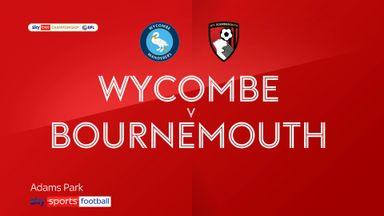Wycombe 1-0 Bournemouth