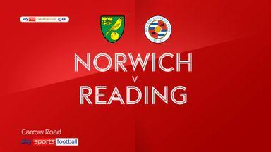 Norwich 4-1 Reading