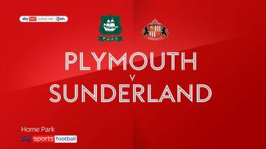 Plymouth 1-3 Sunderland