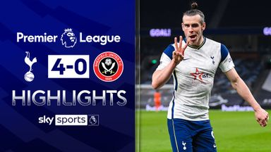 Bale scores hat-trick as Spurs hit four