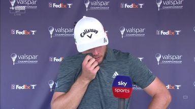 Burns emotional after PGA Tour win