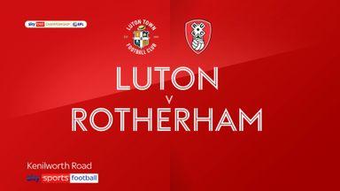 Luton 0-0 Rotherham