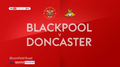 Blackpool 2-0 Doncaster