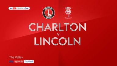 Charlton 3-1 Lincoln