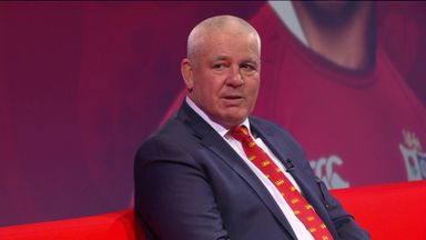 Gatland explains back-row picks