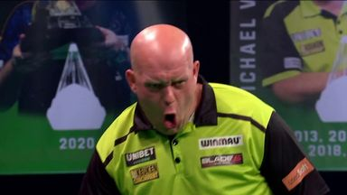 MVG slams in a 117 checkout