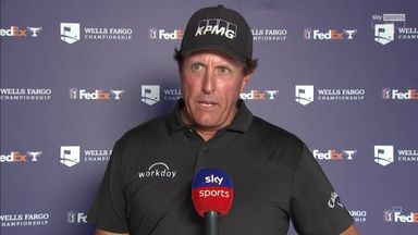 Mickelson: Focus helped to move ahead