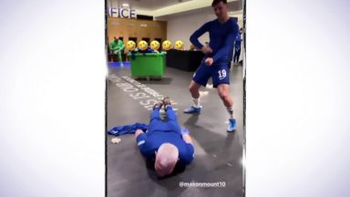 Chilwell: Our masseur was doing the worm!
