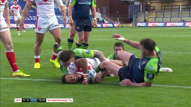 Grace replies for St Helens