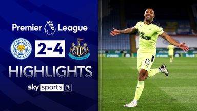 Newcastle stun Leicester at King Power