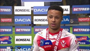 Hat-trick hero Grace sees St Helens into semis