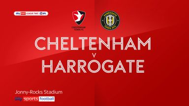 Cheltenham 4-1 Harrogate