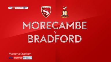 Morecambe 2-0 Bradford