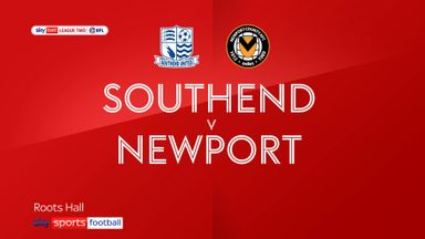 Southend 1-1 Newport County