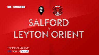 Salford 3-0 Leyton Orient