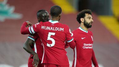HT Liverpool 1-0 Southampton