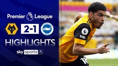 Dramatic Gibbs-White winner beats 10-man Brighton