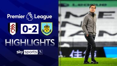 Fulham relegated after defeat to Burnley