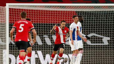 HT Southampton 1-1 Crystal Palace