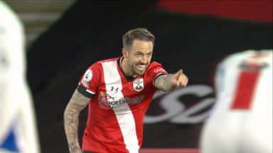 Ings extends Southampton's lead (75)