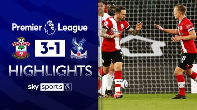 Ings, Adams fire Saints past Palace