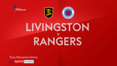 Livingston 0-3 Rangers