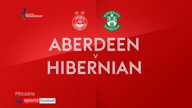 Aberdeen 0-1 Hibernian
