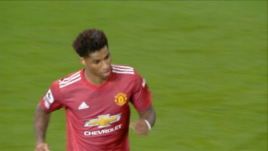 Rashford pulls one back (68)