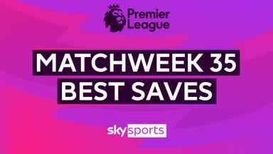 PL Best Saves: Matchweek 35