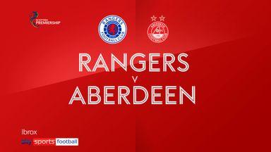 Rangers 4-0 Aberdeen