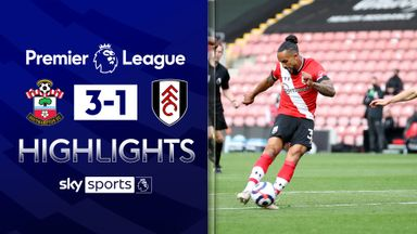 Walcott scores as Saints beat Fulham
