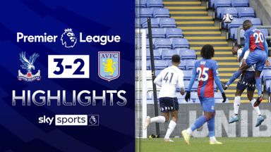 Palace come from behind to beat Villa