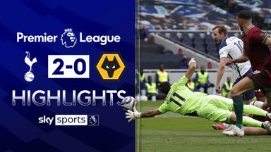 Kane, Hojbjerg see Spurs past Wolves