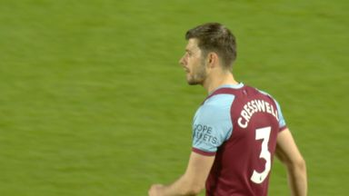 Cresswell rattles post from 35-yards! (65)