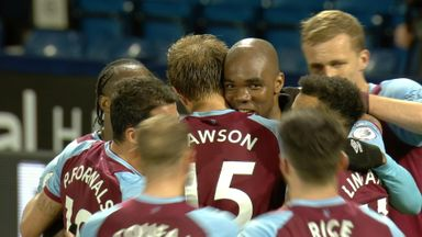 Ogbonna gives Hammers late lead! (82)