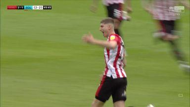 Janelt blasts Brentford into the lead
