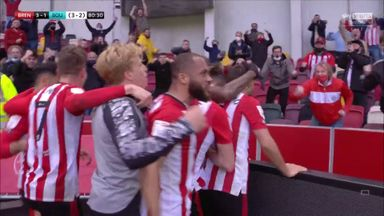 Forss snatches the lead for Brentford