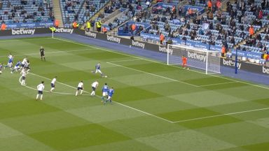 Vardy scores from the spot! (18)