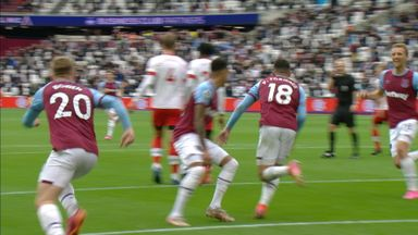 Fornals gives Hammers the lead! (30)
