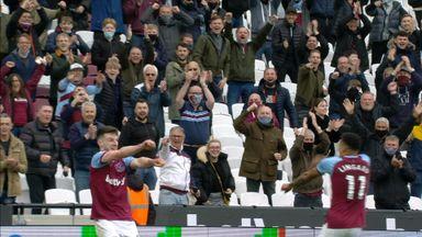 Rice scores West Ham's third (86)