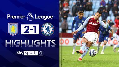 Chelsea scrape fourth despite Villa loss