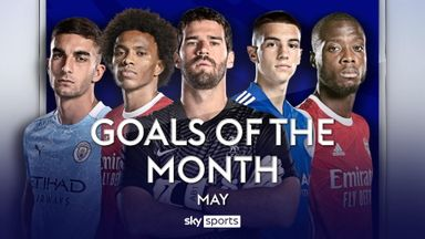 PL Goals of the Month: May