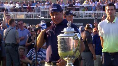 Mickelson: I always felt win was possible