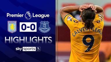 Villa dent Everton's European hopes