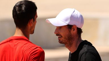 Djokovic: Murray practice 'like old times'