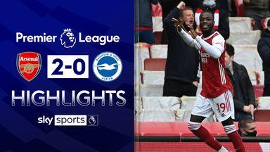 Pepe scores twice, but Arsenal miss European spot