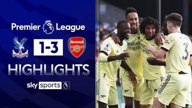 Arsenal leave it late to beat Palace